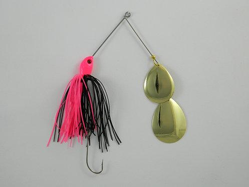 1/2 Oz SB - Hot Pink & Black - Double Colorado