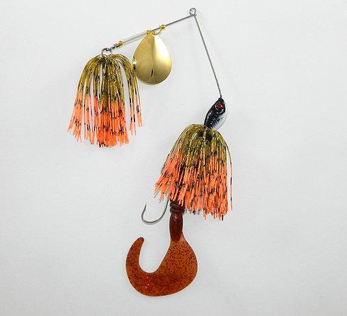 Cod Cruncher Spinnerbait Hot Craw HW