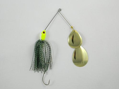 1/2 Oz SB - Glitter Green - Double Colorado