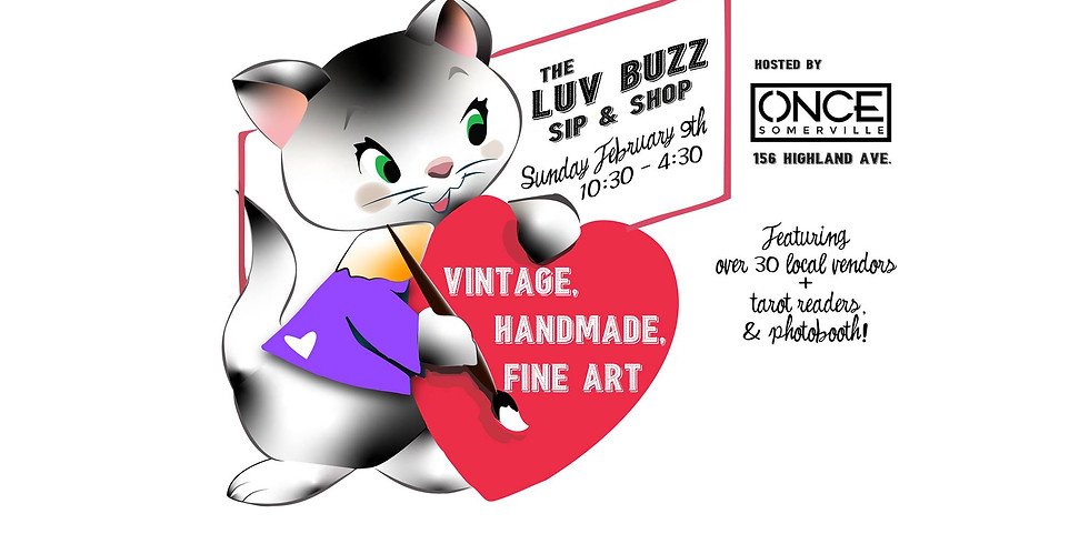 The Luv Buzz Sip & Shop Market