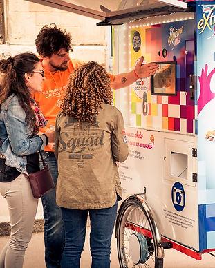 photobooth festival photocyclette