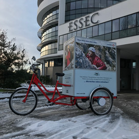 La Photocyclette vinci à l'essec
