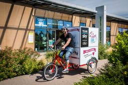 Photocyclette ford tour de france