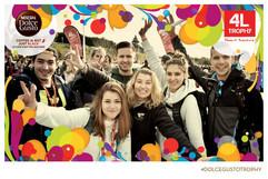 photo groupe de jeune photocyclette
