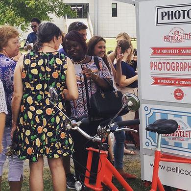 Fête associative photocyclette