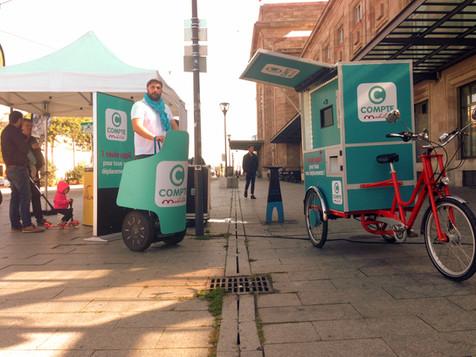 photocyclette street marketing Mulhouse