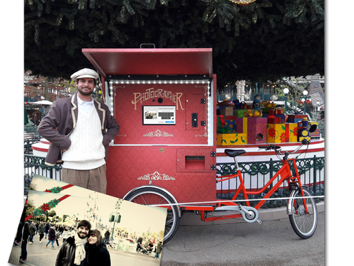 LA PHOTOCYCLETTE FAIT SA STAR À DISNEYLAND PARIS