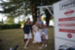 la photocyclette à l'extérieur pour un mariage