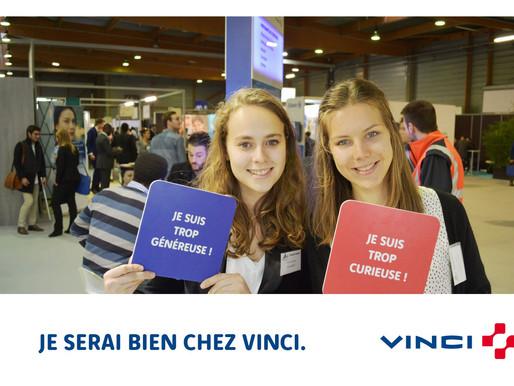 Mission recrutement avec Vinci