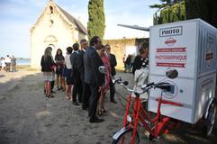 Mariage A&T devant l'église