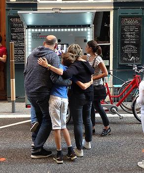 Fête municipale à Lyon et la Photocyclette
