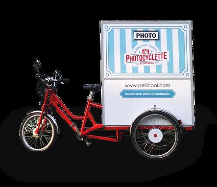 photocyclette autonome enérgie