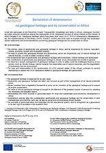 Declaration_Antananarivo_Geological_Heri