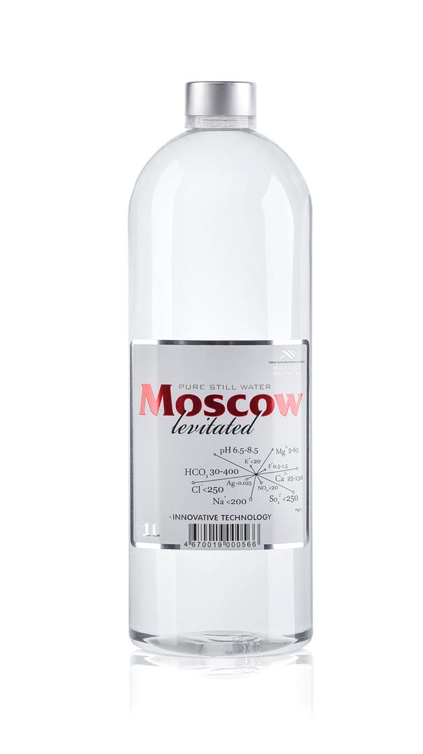 Бутылка ПЭТ объемом 1 литр (6 бутылок в упаковке)