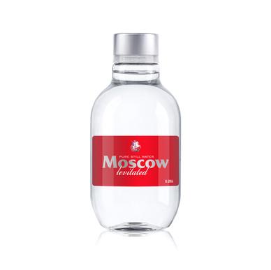 Бутылка ПЭТ объемом 0.25 литра (12 бутылок в упаковке)