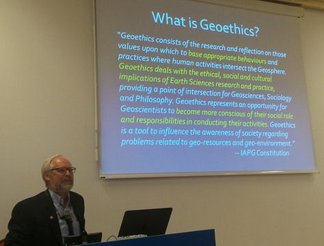 What is geoethics - IAPG Constitution