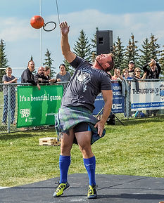 calgary highland games weight over bar