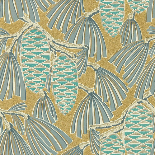 HARLEQUIN - FOXLEY - 112127 KINGFISHER/GOLD