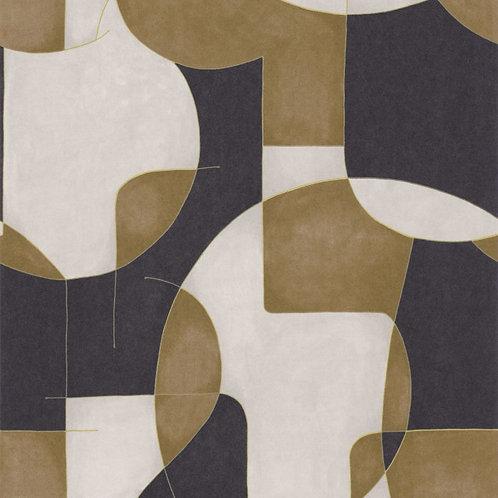 CASADECO - OP'ART - 86092410 CAMEL/NOIR