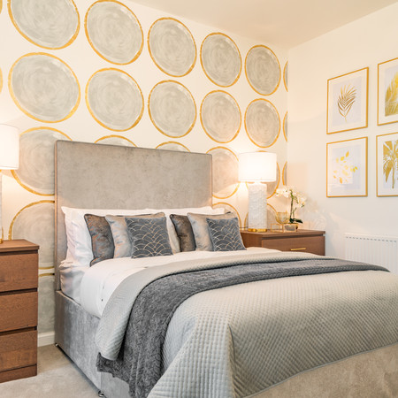 Touch of Gold Bedroom