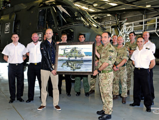 CHF 846 NAS Receives the Merlin