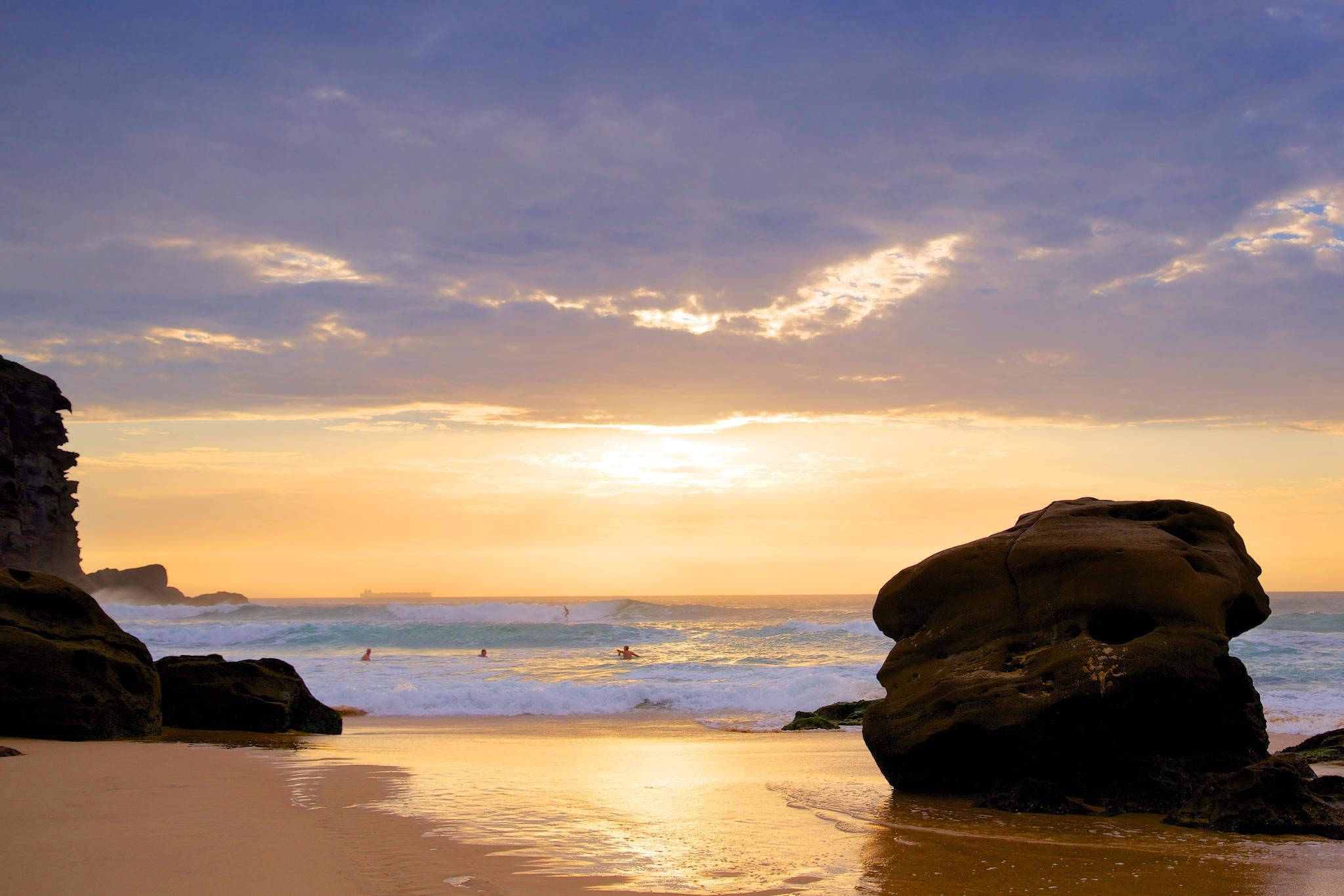 redhead-beach-dawn-redhead-newcastle-nsw-australia-landscape-print