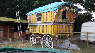 August 2016: Visit to Kent - Gypsy Caravan