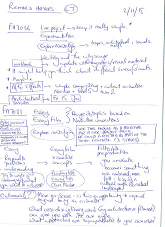 FA7036 - Tutorial Notes with Mark