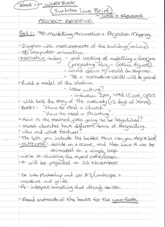 FA7036 - Notes on Surbiton Station Project