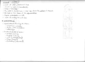 FA7036 - Notes on Various Seminars