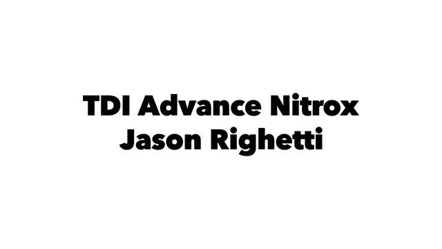 Advanced Nitrox diver course