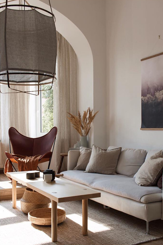 Warm Natural Hues in Czech Apartment