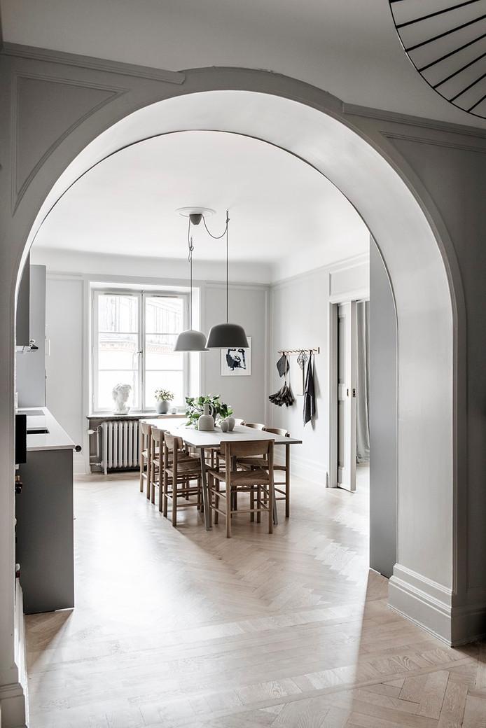 Classic Grey Apartment