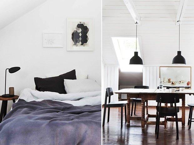 Norwegian Loft belonging to photographer Trine Thorsen