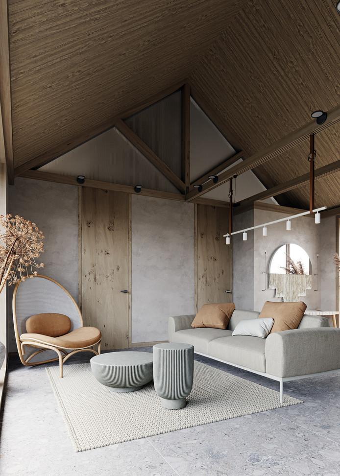 62 m² of Delicate Contemporary Design