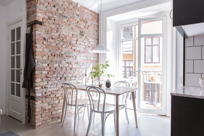Nice Combinations in Swedish apartment