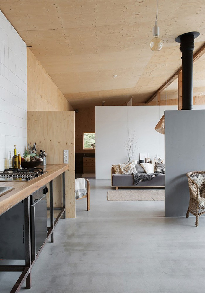 Old Garage Converted into Summer House
