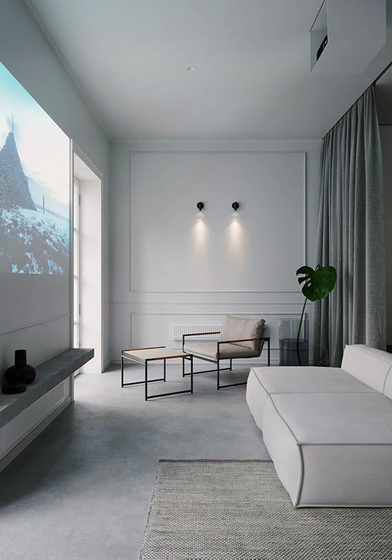 Minimalistic 44m2 Apartment