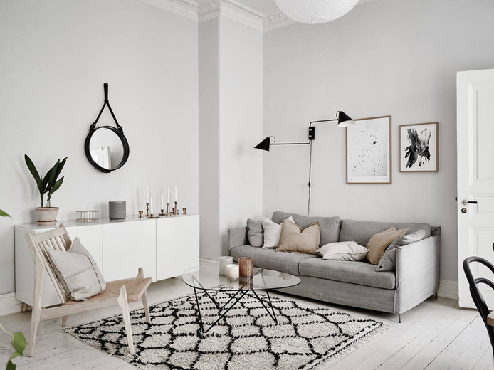 DIY Inspiration from a Swedish Apartment