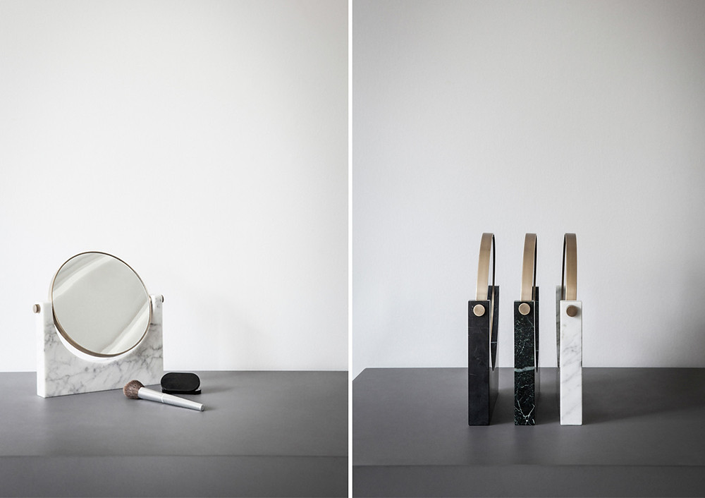 Marble Mirror by studio pepe_for Menu