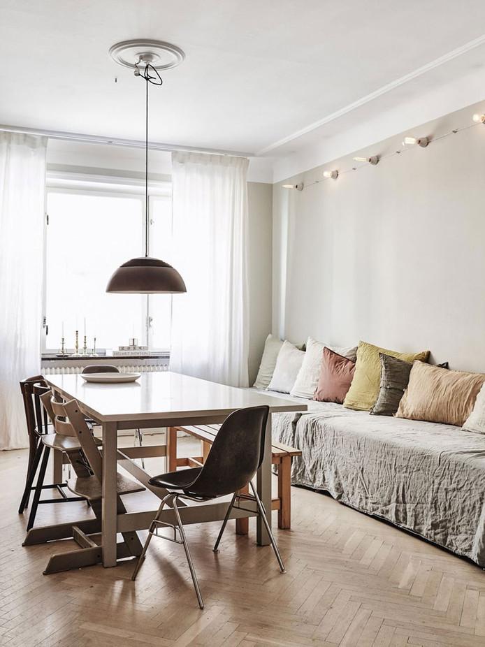 Swedish Apartment with Free Spirit Interior