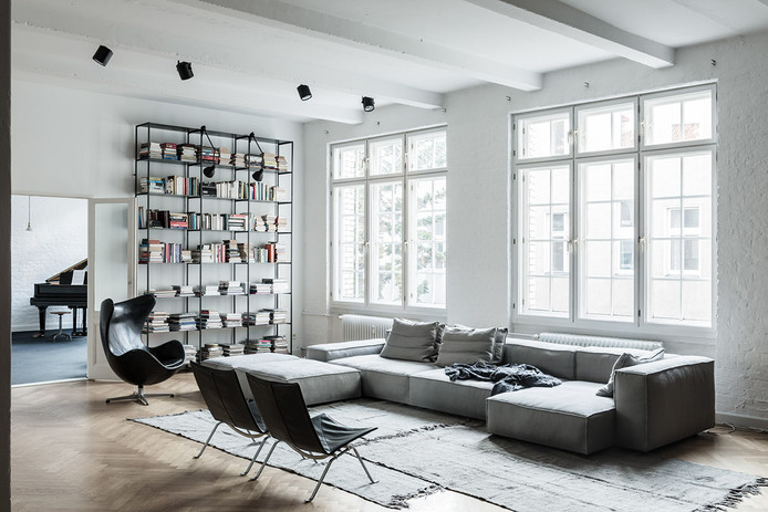 Loft with a Masculine vibe in Berlin