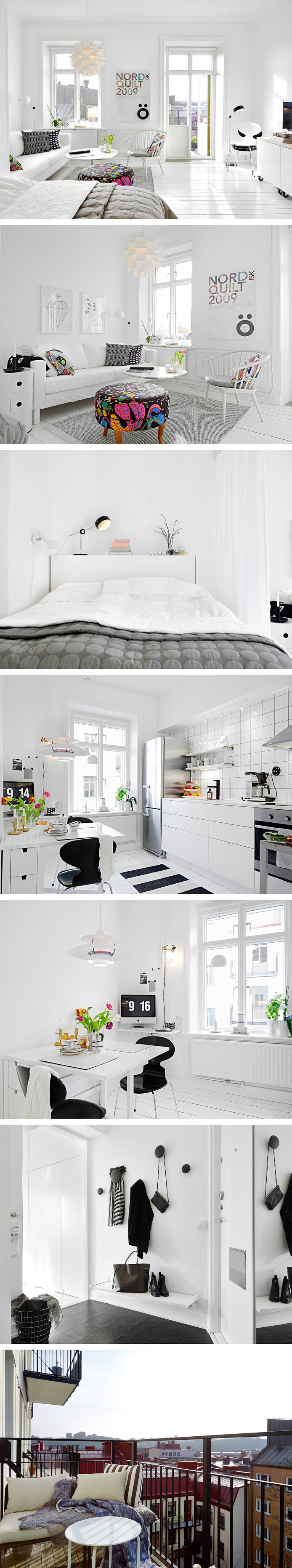 To start the weekend with I XS White Apartment