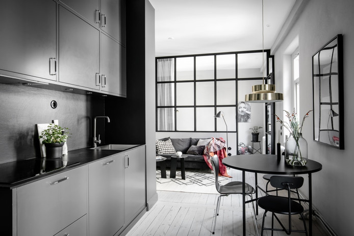 Small and Chic in Stockholm