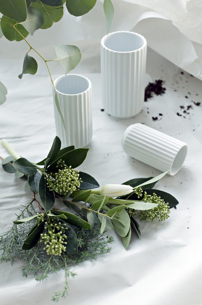 Porcelain Vase By Lyngby