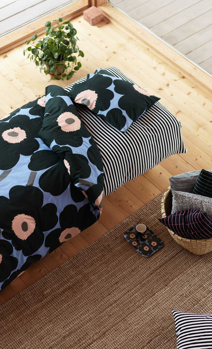 Marimekko in Black-White- Natural