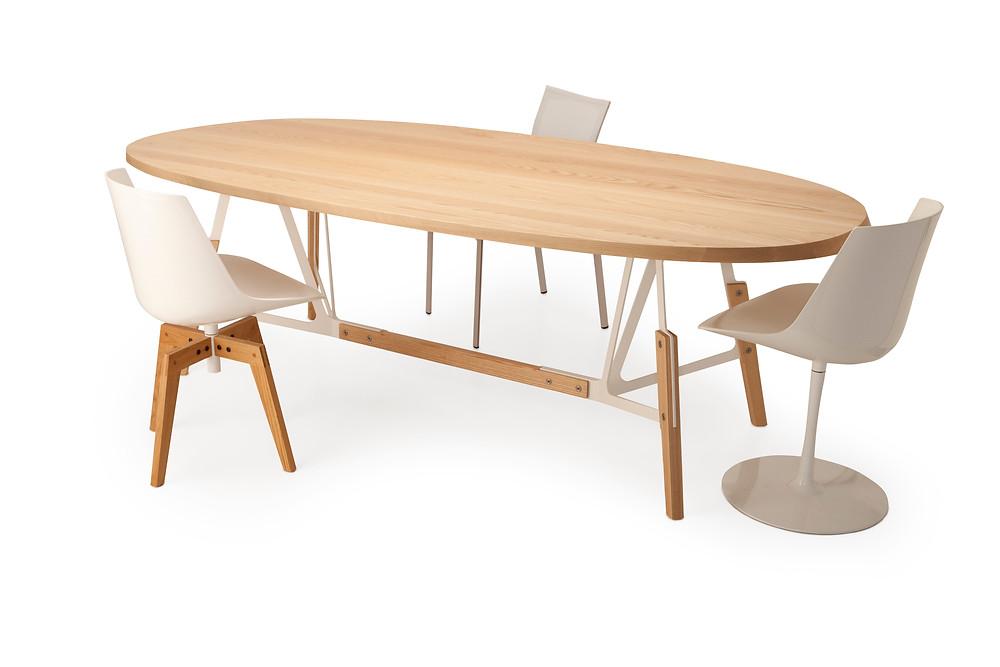 Quodes-Haeberli-Stammtisch 240 cm ash  with 3 chairs.jpg