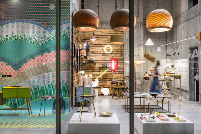 Saga- Design Gallery in Jaffa