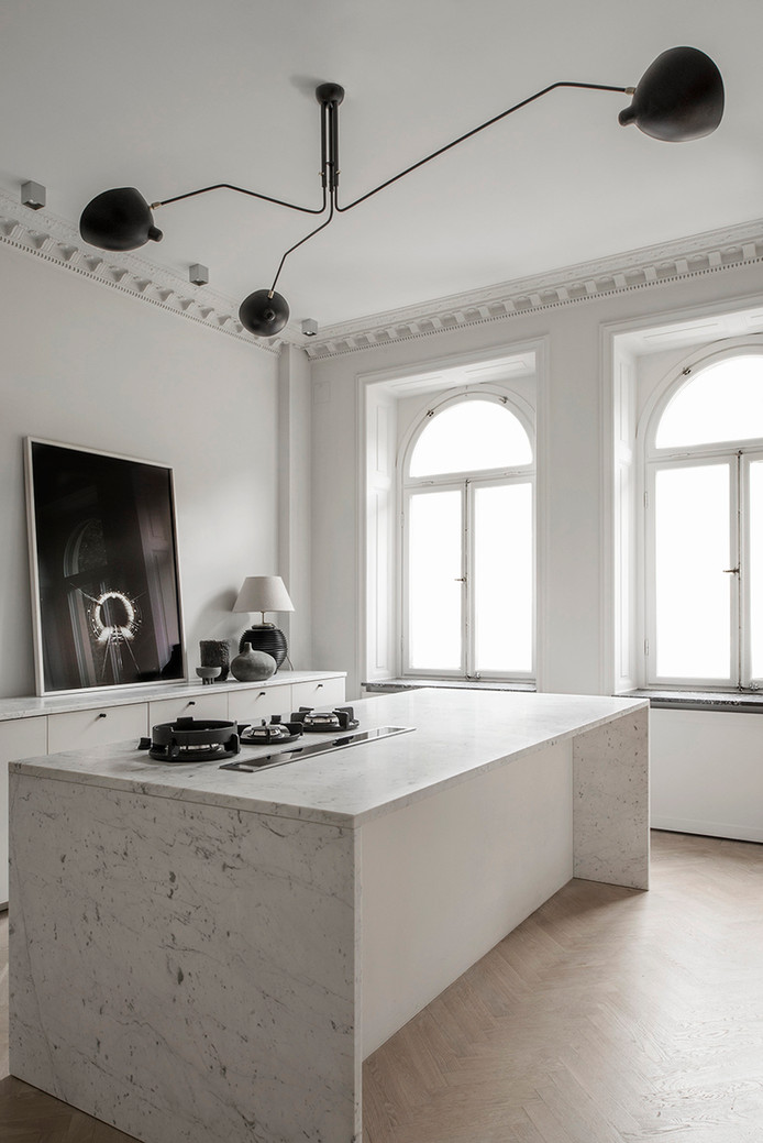 Sleek & Elegant Apartment in Stockholm