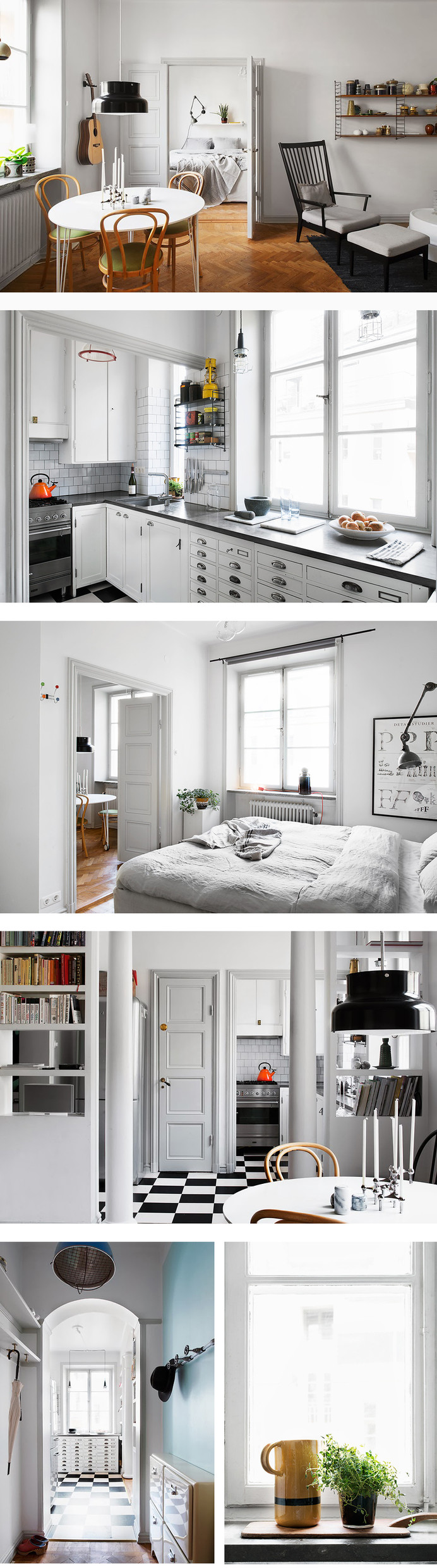 To start the weekend with I 47m²  Stockholm apartment